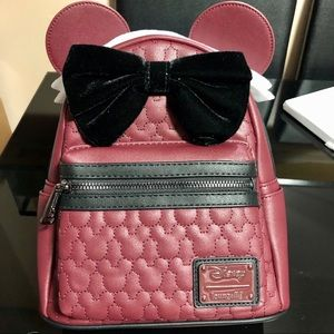 Minnie Mouse Backpack(Loungefly)